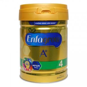 Sữa bột Enfagrow A+ 4 DHA+ và MFGM 870g