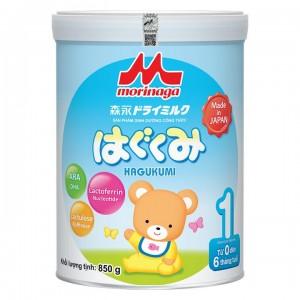 Sữa Morinaga số 1 850g (hàng không đai)
