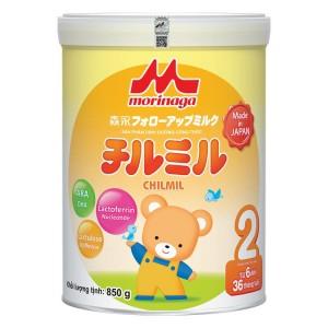 Sữa Morinaga số 2 850g (không đai)