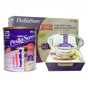 Sữa Pediasure B/A 1.6kg tặng 1 thố thủy tinh clock & clock 2.5l