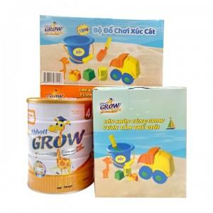 Sữa Abbott Grow 4 - 900g tặng bộ đồ chơi xúc cát