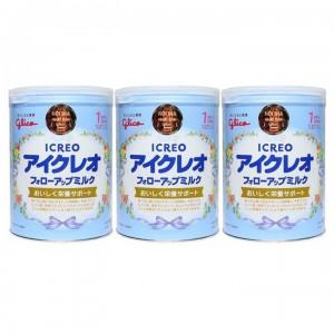 Bộ 3 Sữa Glico Icreo số 1 820g(Chính hãng)