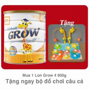 Sữa Abbott Grow 4 - 900g có quà