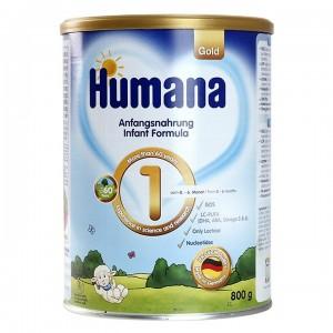 Sữa bột Humana Gold số 1 800g 0-6 tháng