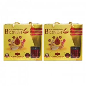 Bộ 2 hộp Yến sào Bionest Gold cao cấp - hộp tiết kiệm 6 lọ
